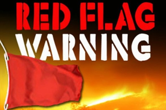 RED FLAG WARNING MEANS MORE POWER SHUTOFFS